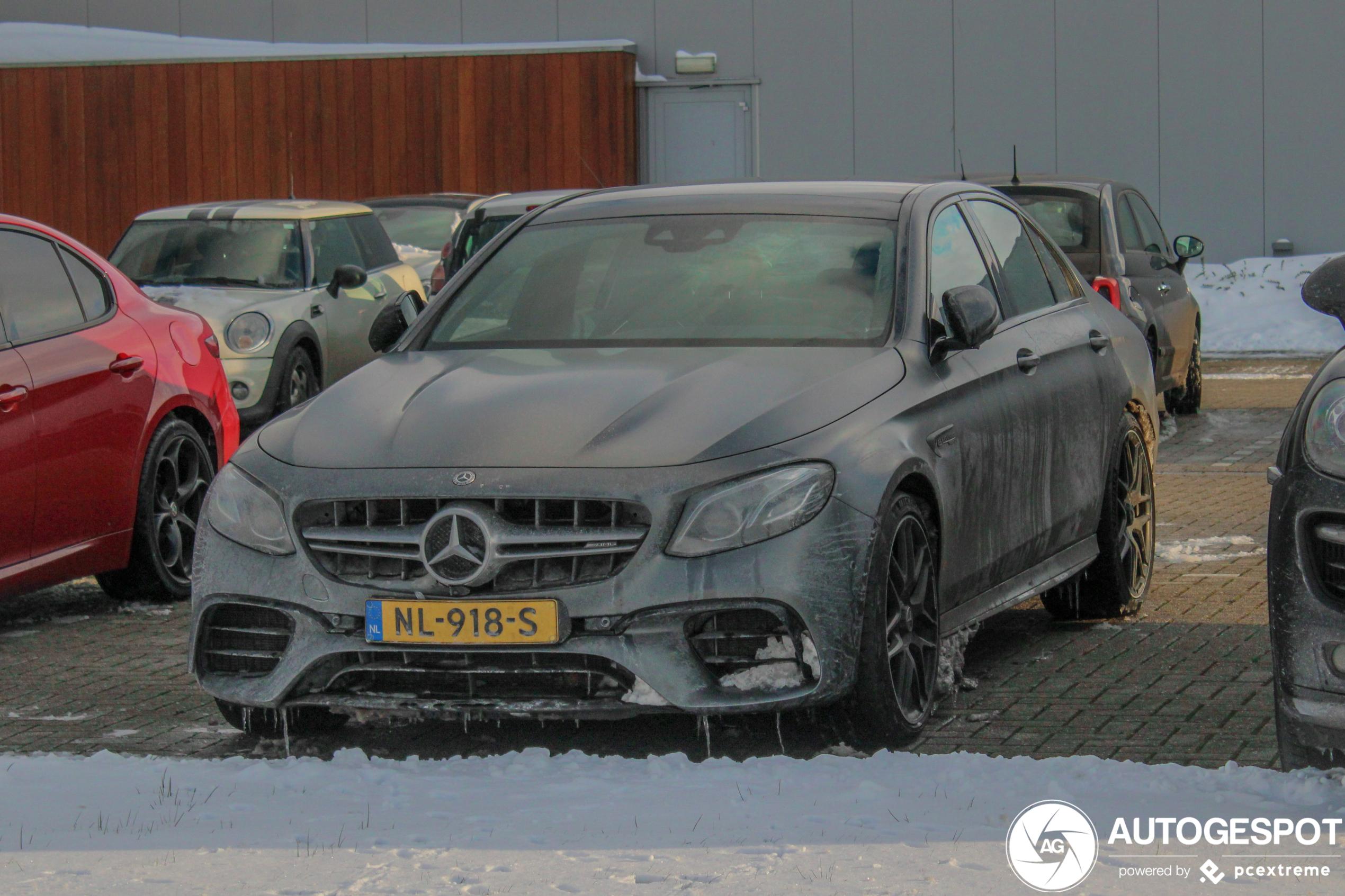 Mercedes-AMG E 63 S heeft het pittig