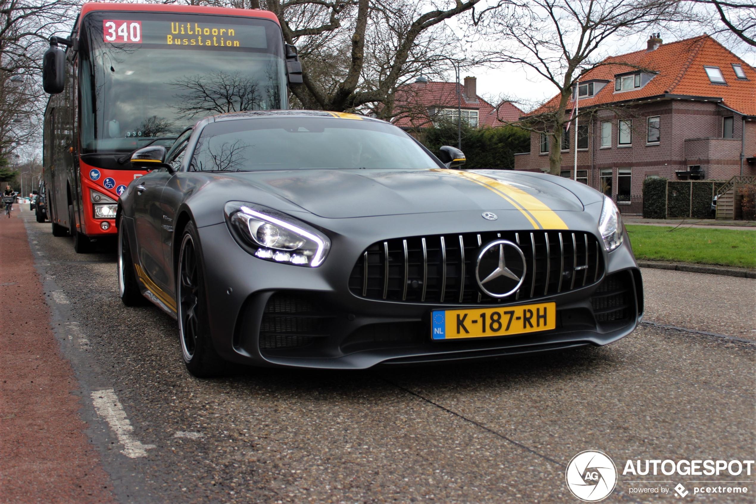 Nederland is een bijzondere Mercedes-AMG GT R rijker
