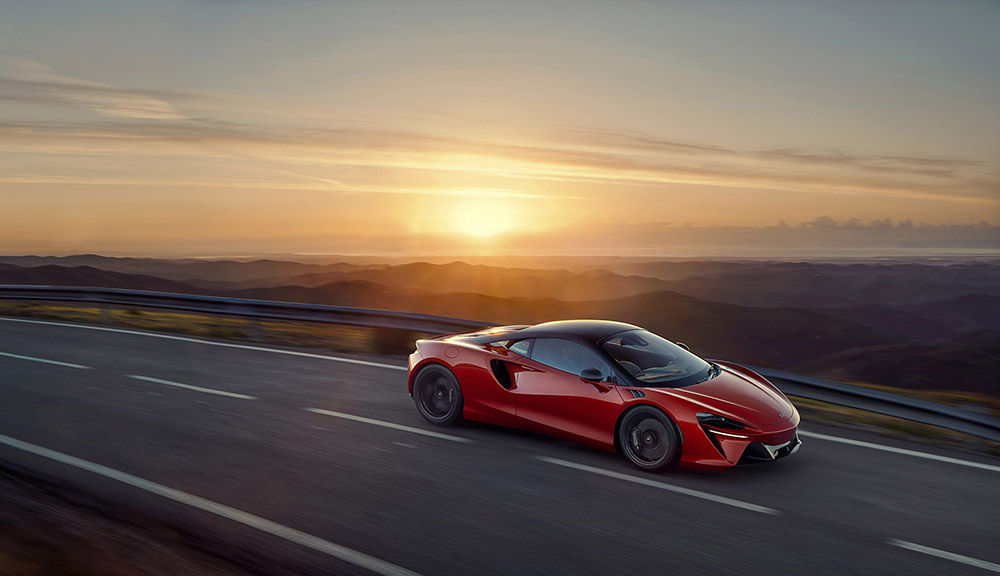 Artura is McLarens nieuwste V6 hybride