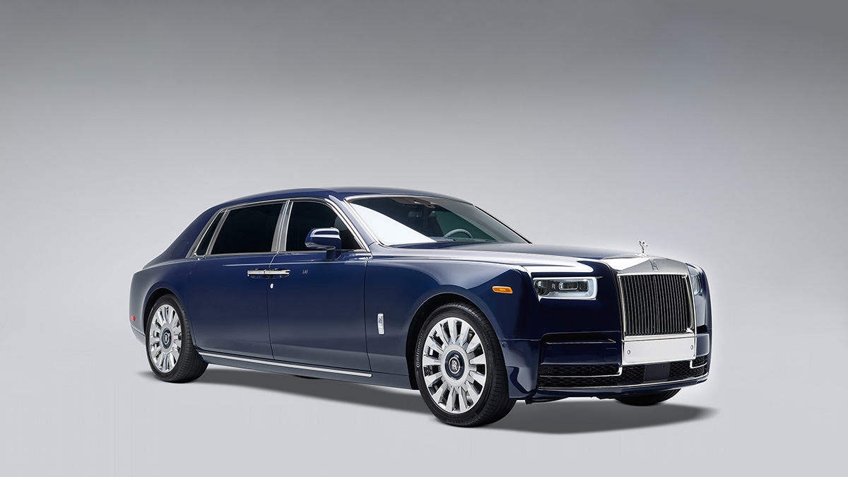 Rolls-Royce Koa Phantom is uitgevoerd met speciaal hout uit Hawaï