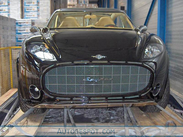 Primeur: Spyker D12 Peking-to-Paris!