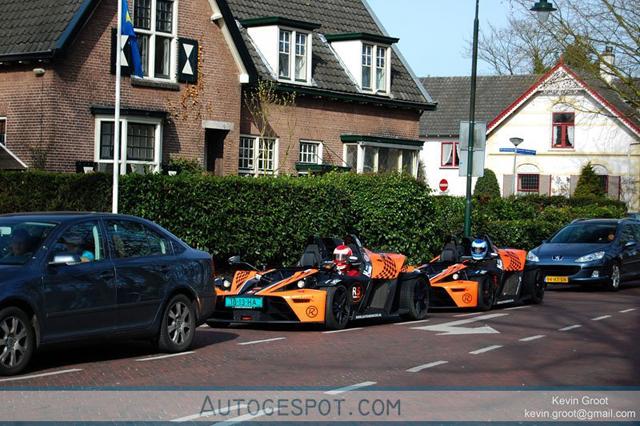 Spot van de dag: twee keer KTM X-Bow