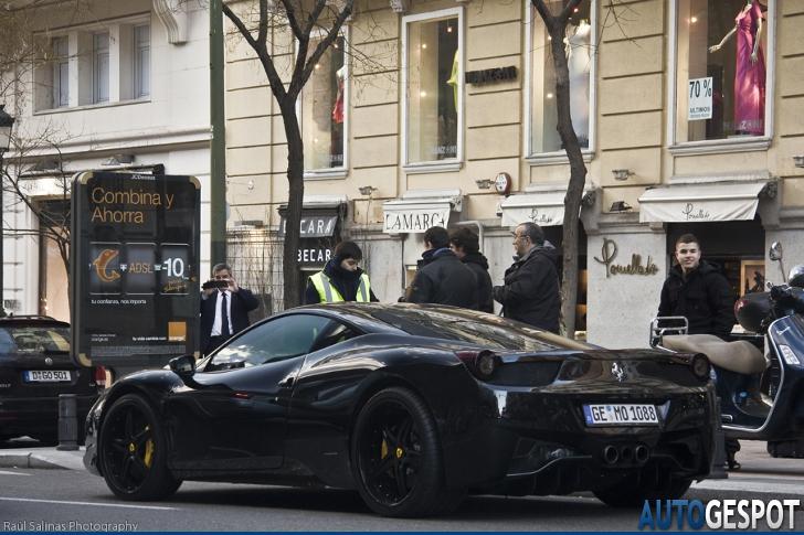 Spot van de dag: Ferrari 458 Italia Anderson Germany Black Carbon Edition