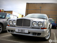 L'une des dix Bentley Continental T Chatsworth