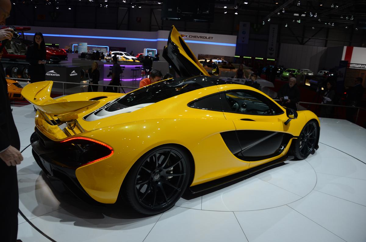 Orange And Black Mclaren P1 >> Geneva 2013: the yellow McLaren P1