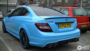 Nemoguće je neprimetiti ga: Mercedes-Benz C63 AMG Coupe
