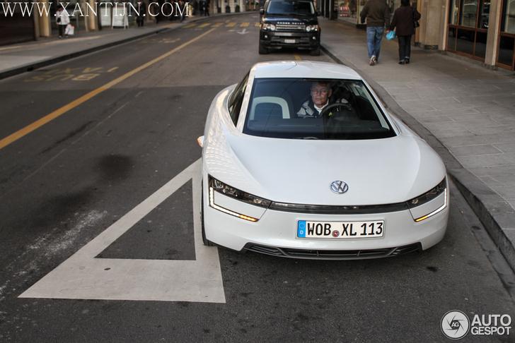 une voiture du futur la volkswagen xl1. Black Bedroom Furniture Sets. Home Design Ideas