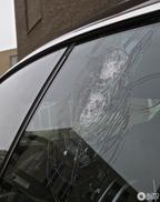 Опять Bentley Continental GT с разбитым стеклом