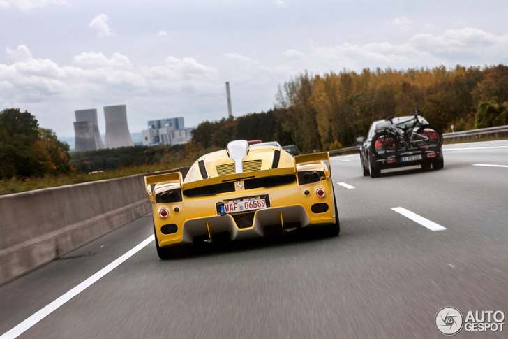 special ferrari enzo zxx is now spotted - Ferrari Enzo Gold