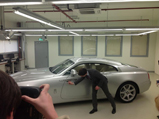 This is what the Rolls-Royce Wraith looks like in another colour