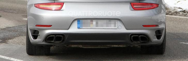 Une Porsche 991 Turbo sans camouflage !