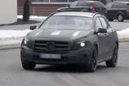 Spyshots : la Mercedes-Benz GLA 45 AMG