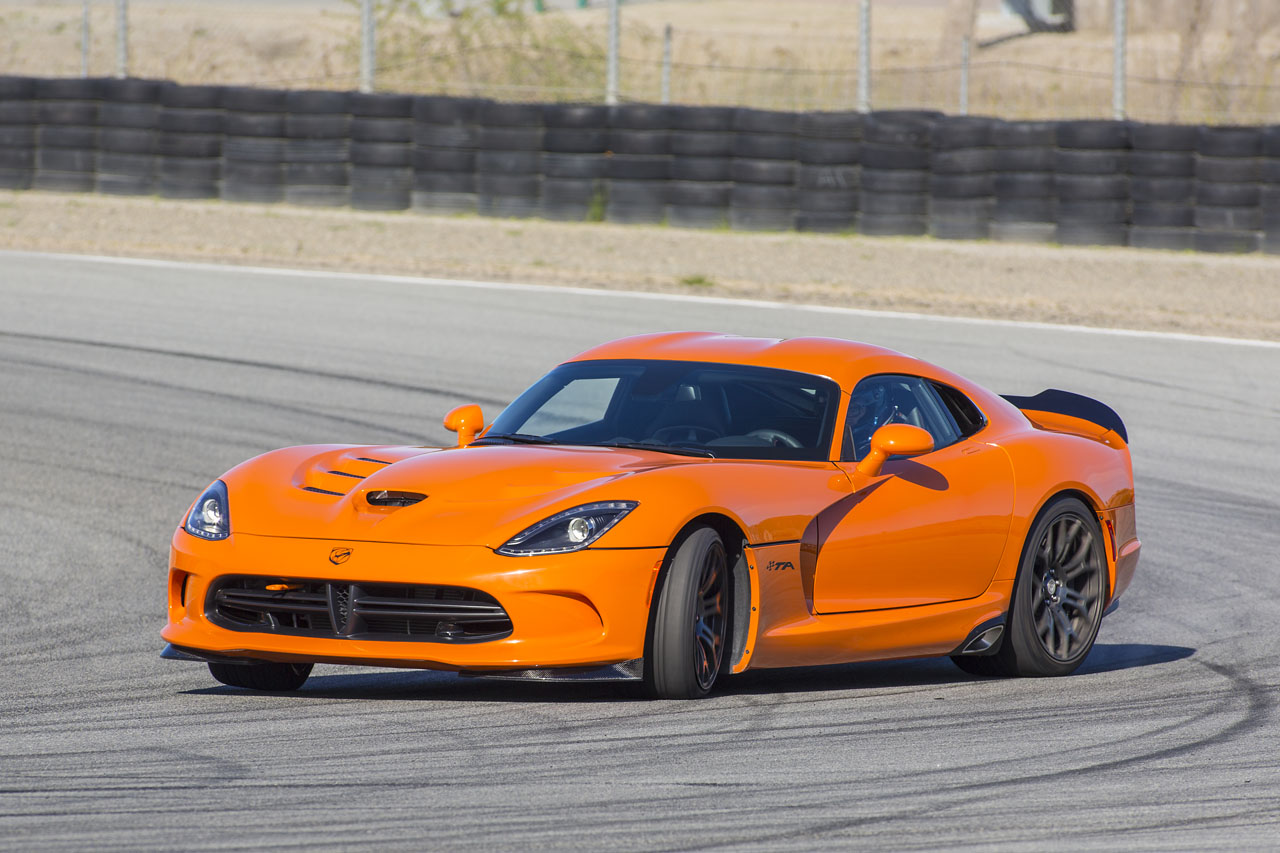 Srt Viper Ta Is The Fastest Production Car On Laguna Seca