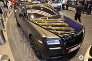 Brutalno crni Rolls-Royce Ghost primećen u Dubajiu