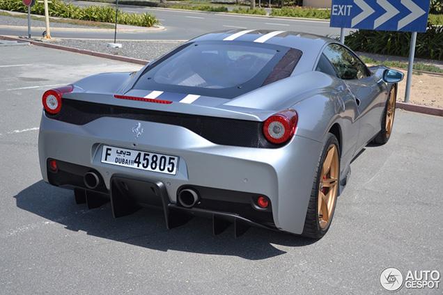 Argento Nürburgring geeft Ferrari 458 Speciale meer stijl
