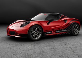 Alfa Romeo 4C is Safety Car WTCC 2014