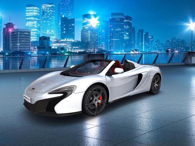 McLaren blinkt ook uit in het maken van een configurator