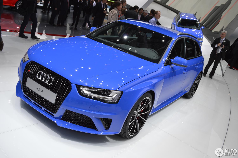 Geneva 2014 Audi Rs4 Avant Nogaro Selection