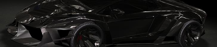 Casborn Styling Group 打造超级凶狠的Aventador