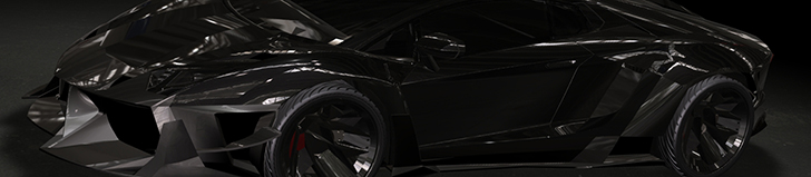 Casborn Styling Group 打造超级凶狠的兰博基尼 Aventador