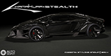 Aventador looks very brutal thanks to Casborn Styling Group