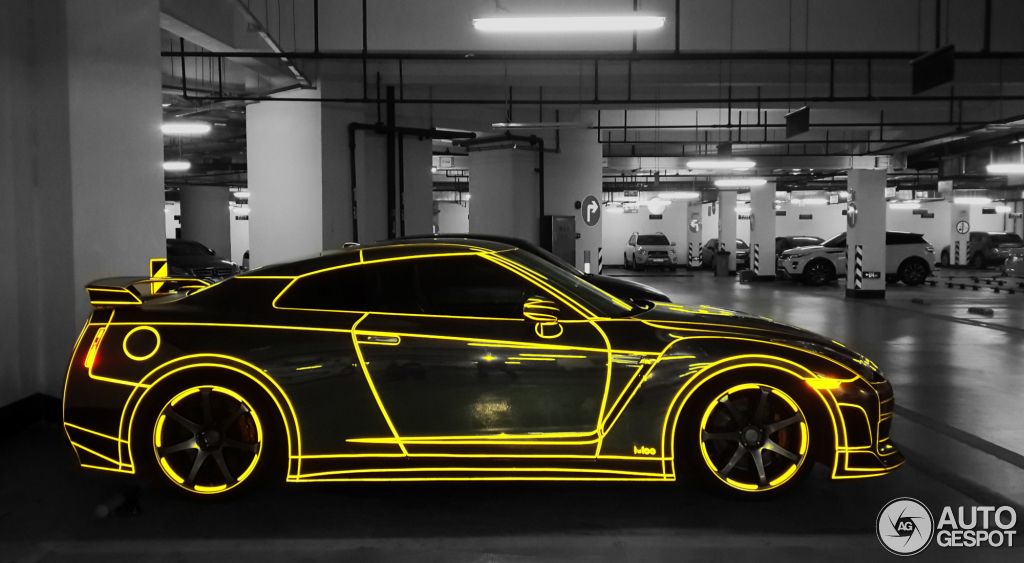 Tron Nissan Gt R Spotted In China