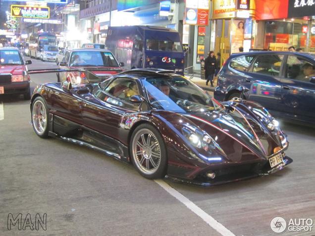 Pagani Zonda 760 Fantasma Spotted In Hong Kong
