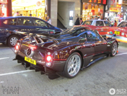 Pagani Zonda 760 Fantasma reperat in Hong Kong