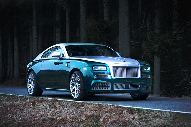 Mansory tunes the Rolls-Royce Wraith