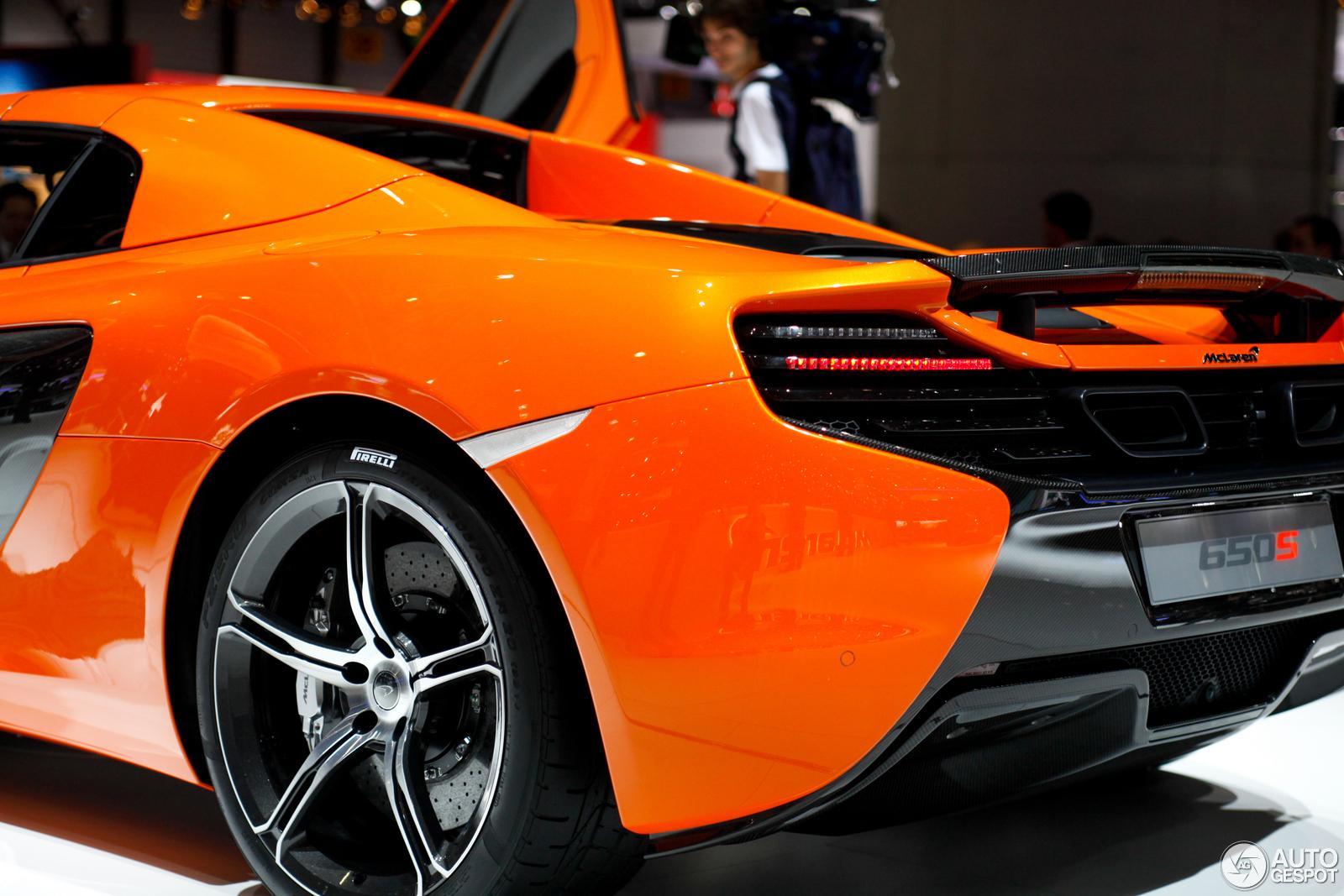 Used Mclaren P1 For Sale >> Geneva 2014: McLaren 650S Spider