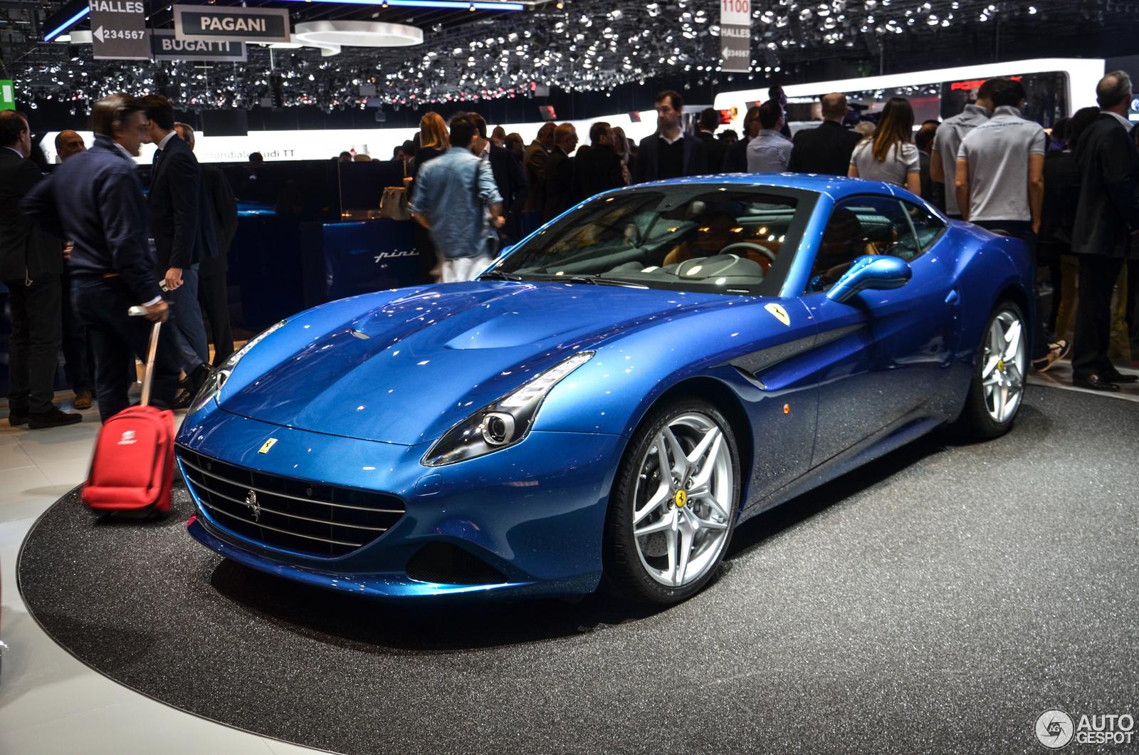 Geneva 2014 Ferrari California T