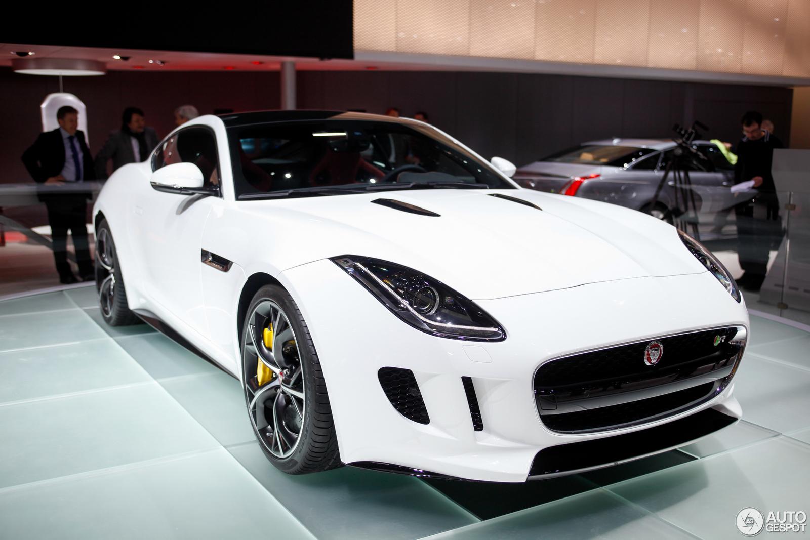 Geneva 2014 Jaguar F Type R Coupe