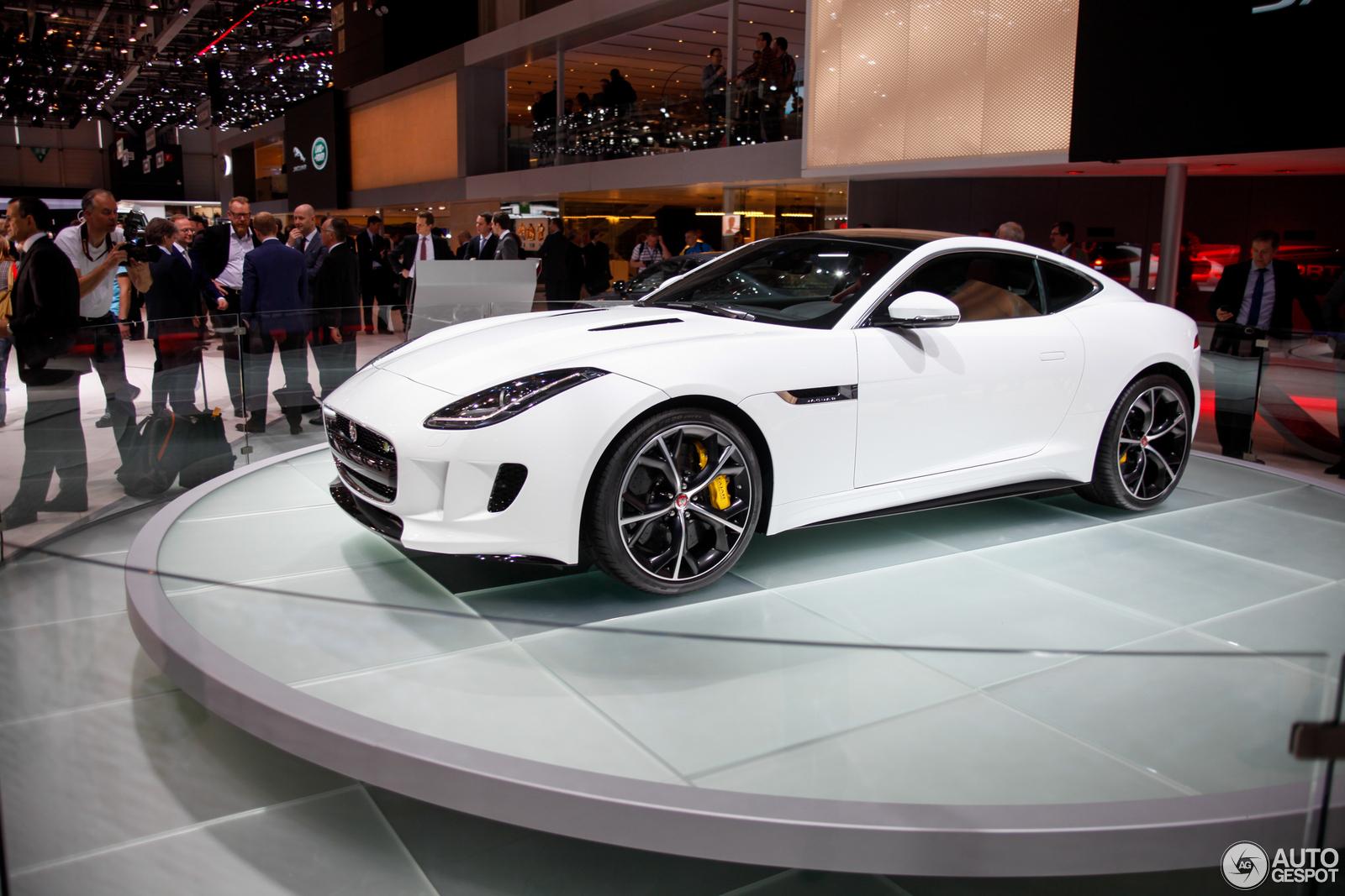 Geneva 2014 Jaguar F Type R Coup 233