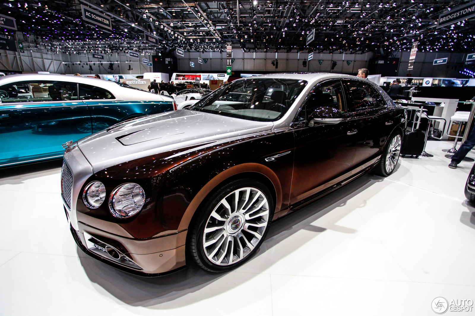 Geneva 2014 Mansory Flying Spur