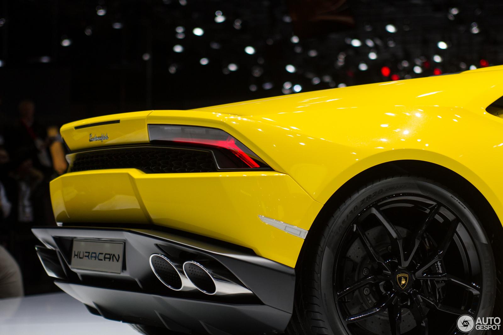 Geneva 2014 Lamborghini Hurac 225 N Lp610 4