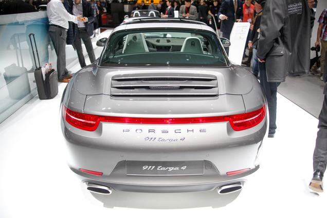 Geneva 2014: Porsche 991 Targa