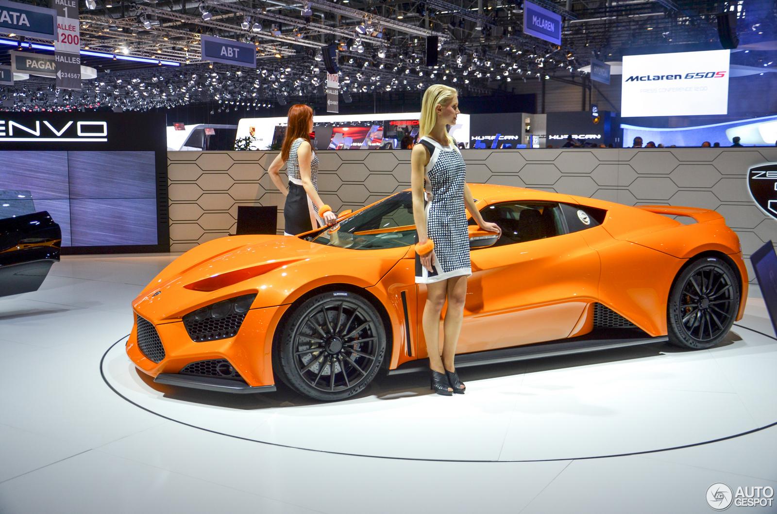 Zenvo Engine Autos Post