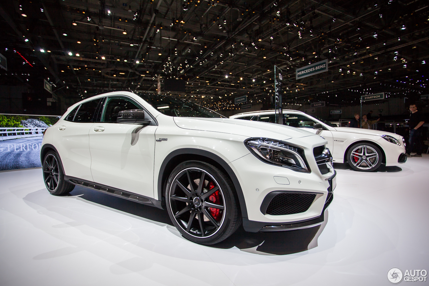 gen ve 2014 mercedes benz gla 45 amg. Black Bedroom Furniture Sets. Home Design Ideas
