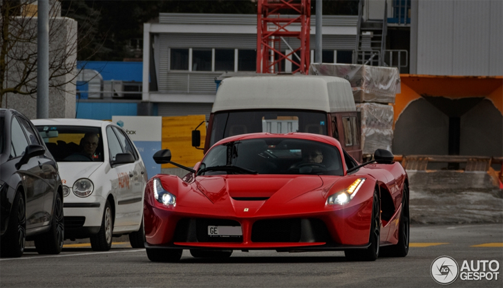 Ferrari Laferrari Spotted In Geneva