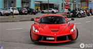 Ferrari LaFerrari złapane w Genewie