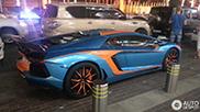 Reperat: Aventador in costum de carnaval la Dubai!