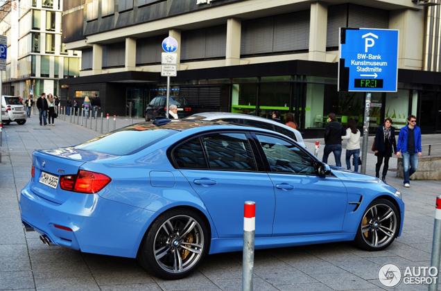 Is dit de eerste klantgeleverde BMW M3 F80?