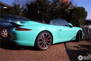reperat: Porsche 991 Carrera S intr-o culoare unica