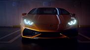 Teaser trailer Lamborghini Huracán LP610-4 online
