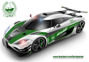 Koenigsegg One:1 va fi cea mai rapida masina de politie?