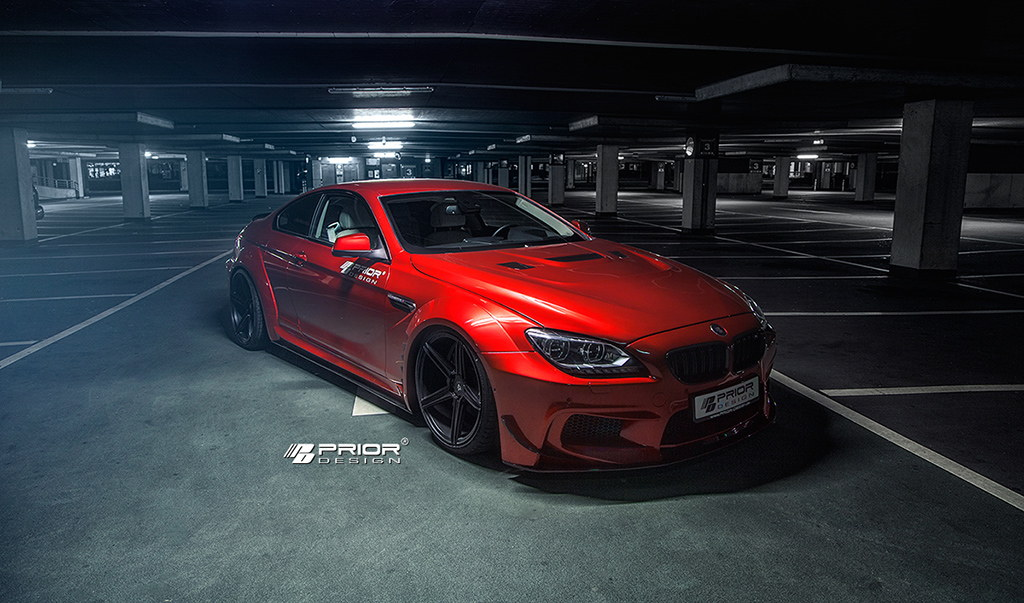The Bmw M6 Is Not Wide Enough For Prior Design