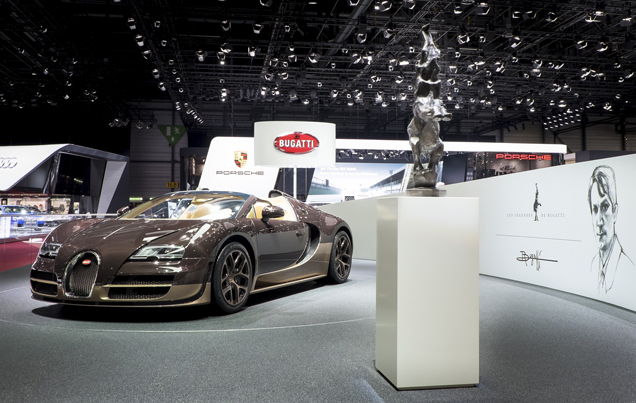 "Bugatti Veyron 16.4 Grand Sport Vitesse ""Rembrandt"" alweer uitverkocht"
