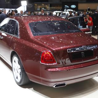 Geneva 2014: Rolls-Royce Ghost Series II