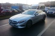 SCOOP: Mercedes-Benz S-Class Coupe reperat in salbaticie