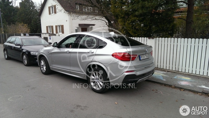 What do you think of this BMW X4 on the streets?
